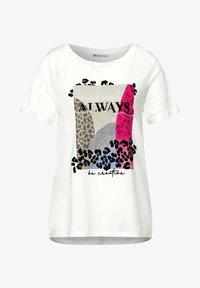 Street One - MIT PART - T-shirt med print - weiß - 3