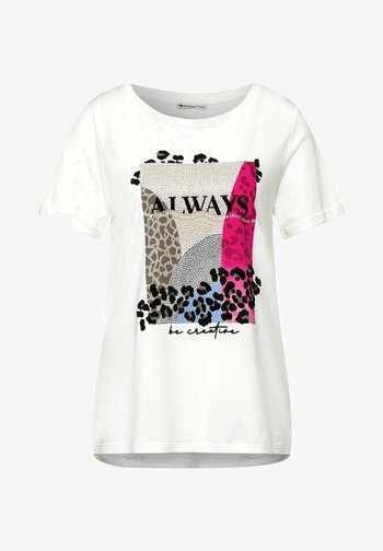 MIT PART - T-shirt print - weiß