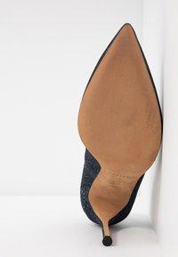 Pura Lopez - High heels - navy glitter - 6