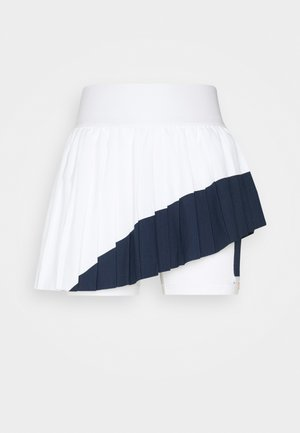 SLAM SKIRT - Sports skirt - obsidian/white