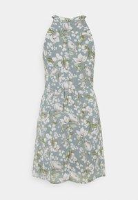 Vila - VIMILINA FLOWER DRESS - Cocktail dress / Party dress - ashley blue/white - 5