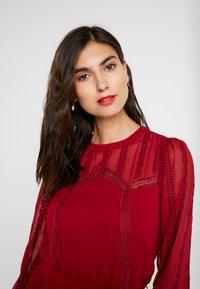 NAF NAF - LATROUSSO - Day dress - rouge dorient - 4