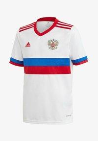 adidas Performance - AWAY RUSSIA - National team wear - white - 0