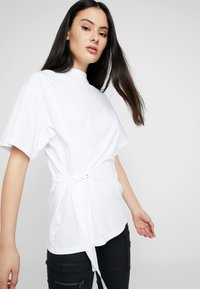 G-Star - DISEM LOOSE - T-shirt med print - white - 3
