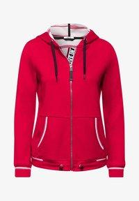 Cecil - Zip-up hoodie - rot - 3