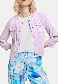 Taifun - Denim jacket - lavender - 1