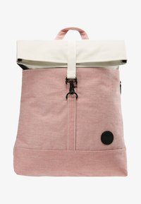 Enter - CITY FOLD TOP BACKPACK - Batoh - melange red/natural - 6