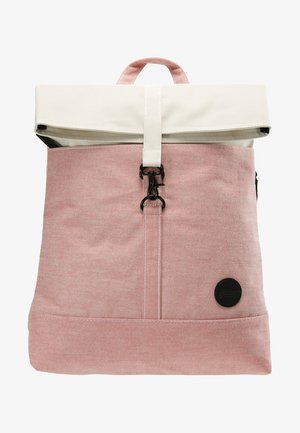 CITY FOLD TOP BACKPACK - Sac à dos - melange red/natural