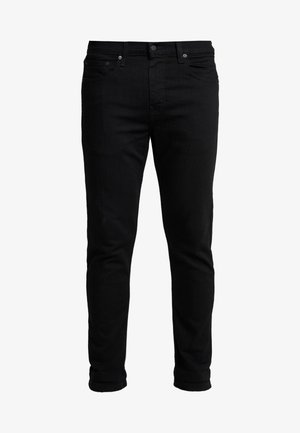 502™ TAPER HI BALL - Jeans fuselé - black denim