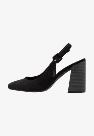 NINA - Høye hæler - black