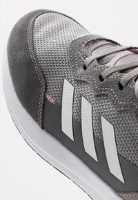 adidas Performance - RAPIDARUN ELITE - Hardloopschoenen neutraal - grey three/silver metallic/glow pink - 2