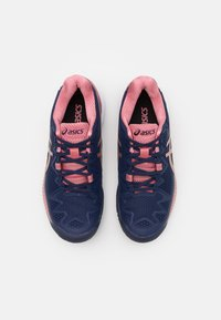 ASICS - GEL-RESOLUTION 8 - Multicourt tennis shoes - peacoat/rose gold - 3