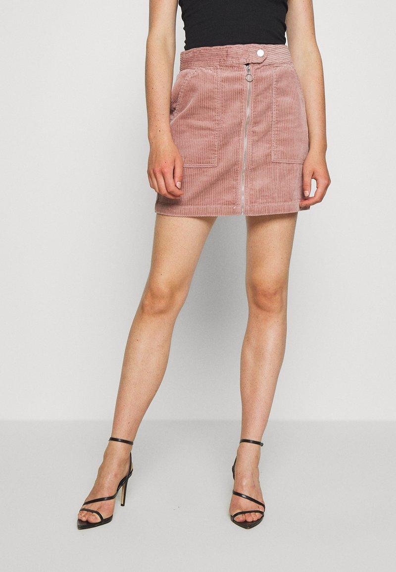 JDY - KIRA LIFE - Pencil skirt - woodrose