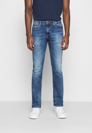 SCANTON SLIM - Slim fit jeans - light-blue denim