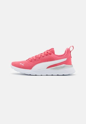 ANZARUN LITE - Sports shoes - sun kissed coral/white