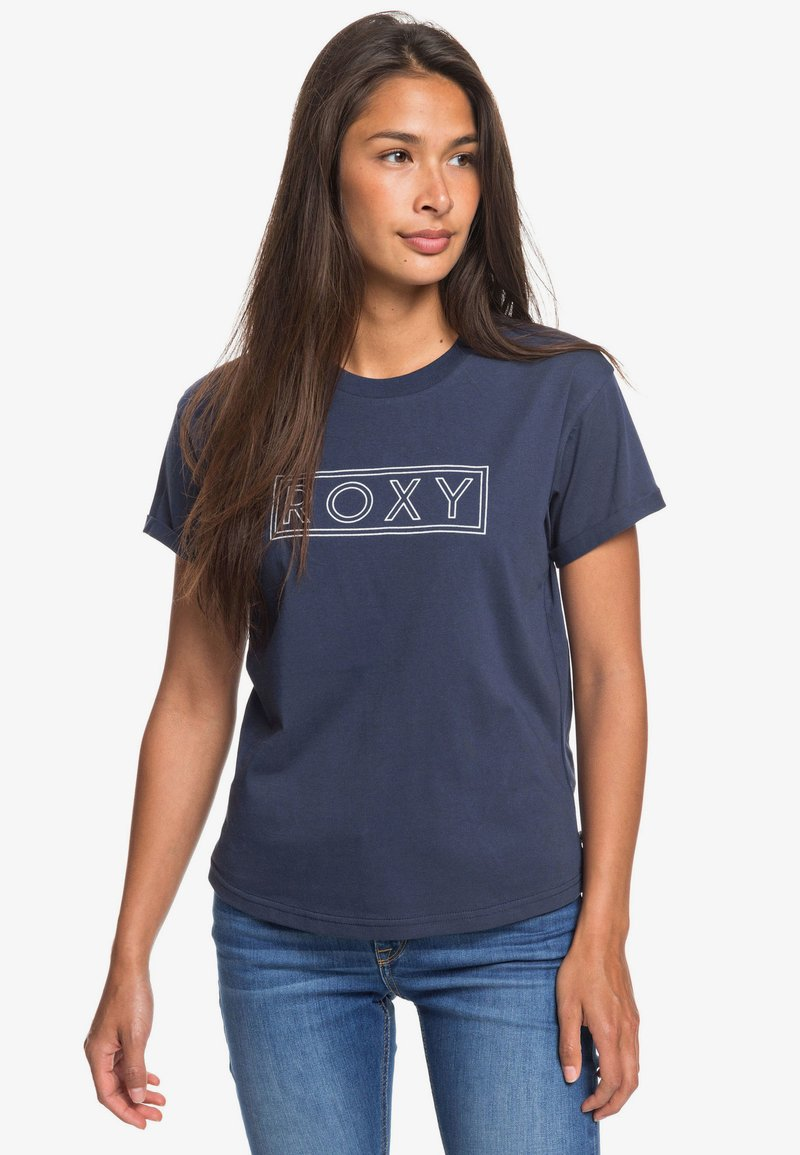 Roxy - EPIC AFTERNOON - Print T-shirt - mood indigo