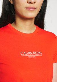 Calvin Klein - LOGO DRESS - Jersey dress - fiesta - 5