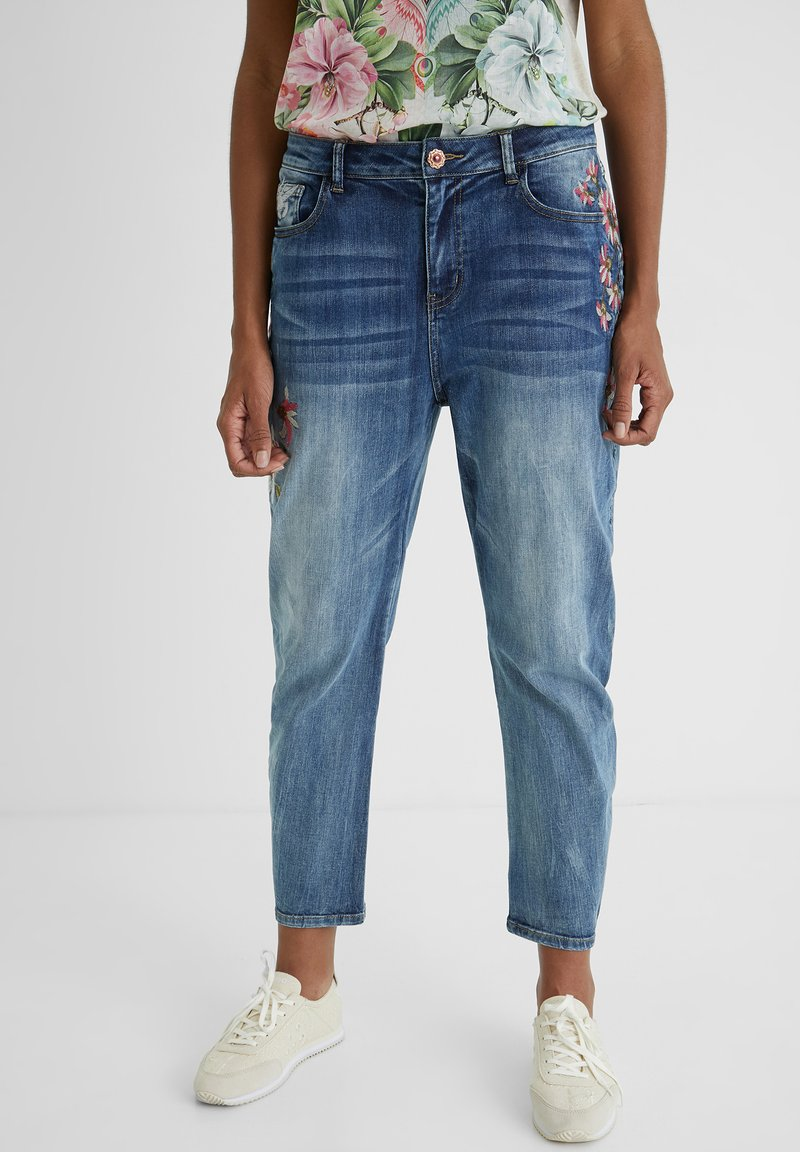 Desigual - Relaxed fit jeans - blue