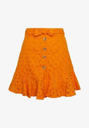 ANGLAIS MINI SKIRT - A-line skirt - bright orange