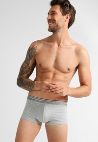 Tommy Hilfiger - PREMIUM ESSENTIAL LOW RISE HIP TRUNK 3 PACK - Shorty - grey - 0