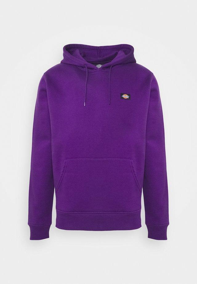 OKLAHOMA HOODY - Hoodie - deep purple