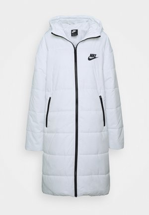 CORE - Winter coat - white/black
