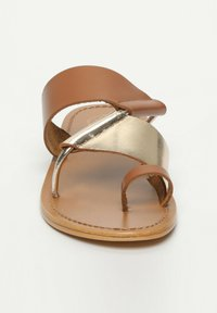 White Sun - COLIN  - T-bar sandals - camel - 3