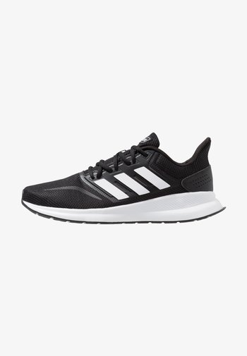 RUNFALCON - Neutral running shoes - core black/footwear white