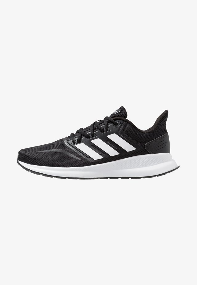 RUNFALCON - Neutral running shoes - core black/footwear white