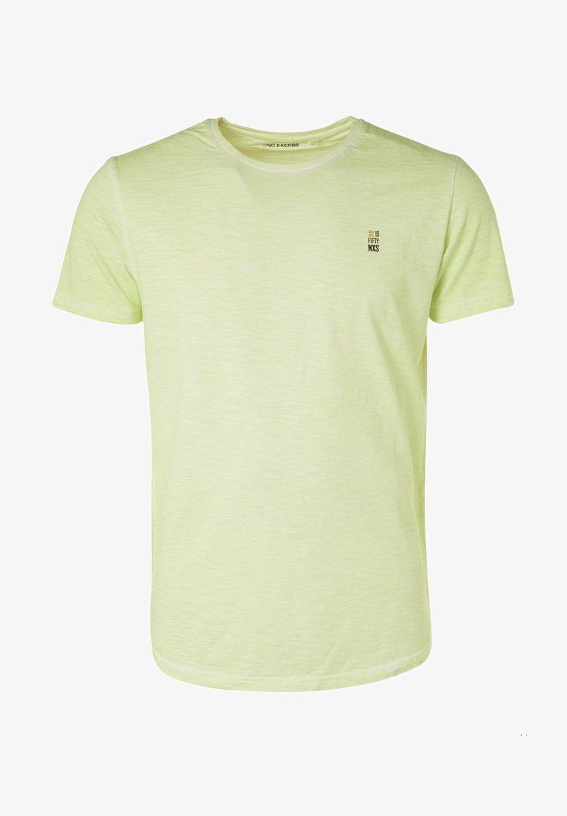 No Excess - Basic T-shirt - light green