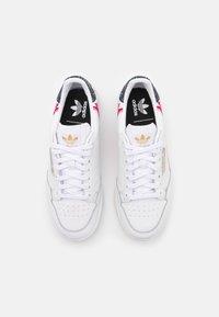 adidas Originals - CONTINENTAL 80 - Trainers - footwear white/gold metallic - 5