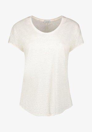 Jednoduché triko - wool white