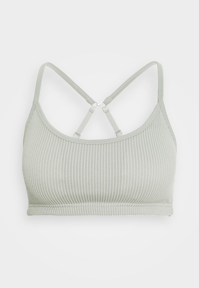 Cotton On Body - WORKOUT YOGA CROP - Sujetador deportivo - washed aloe