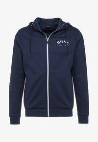 BOSS - SAGGY WIN - Zip-up hoodie - blue/silver - 5