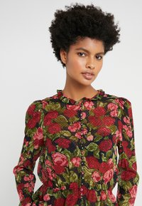 The Kooples - CHEMISE - Button-down blouse - black/red - 5