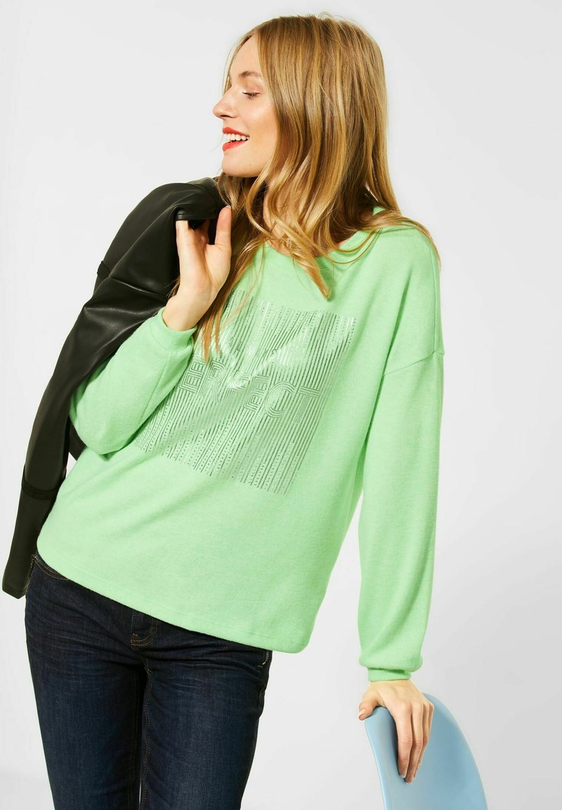 Street One - Long sleeved top - grün