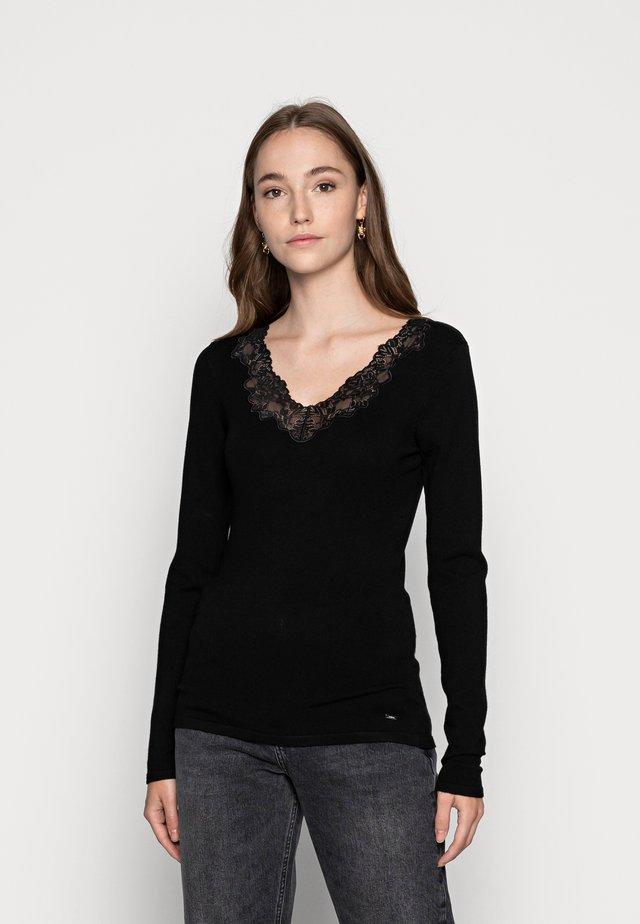 MBIBI.N JERSEY - Long sleeved top - noir