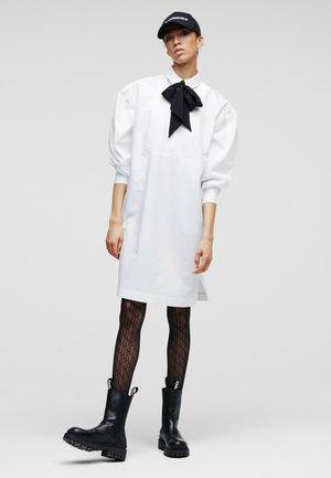KARL  - Shirt dress - white