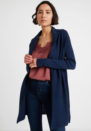 BASIC - Cardigan - dress blues