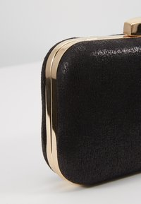 Dorothy Perkins - ROUNDED BOX  - Clutch - black - 6