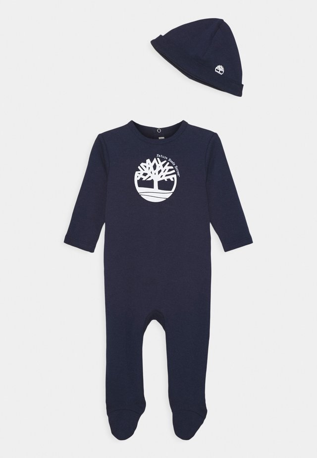 PULL ON HAT SET - Sleep suit - navy
