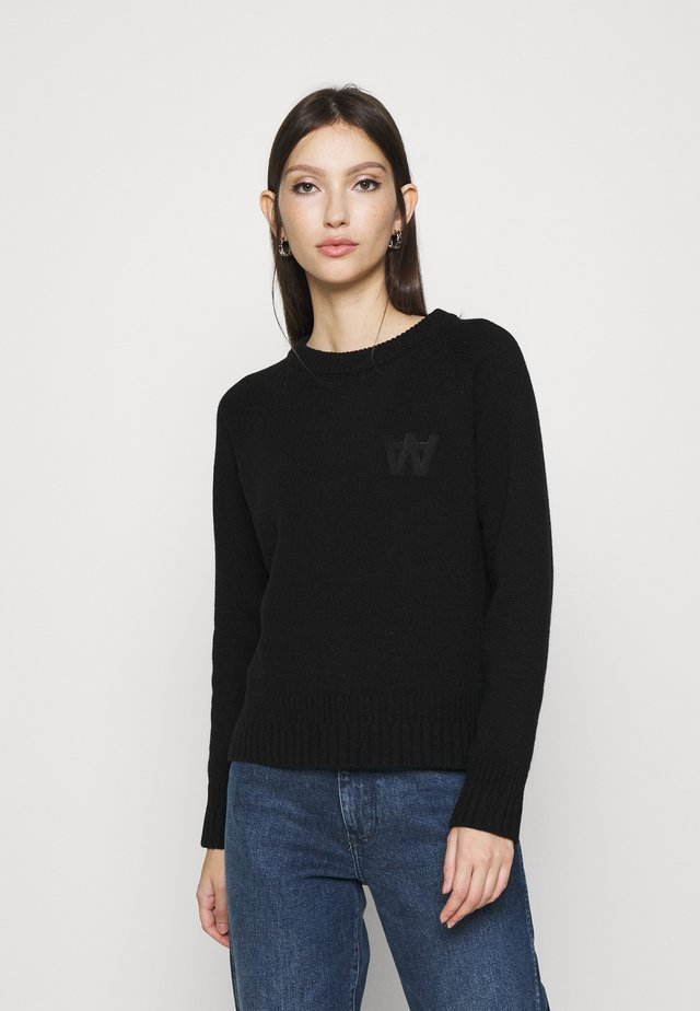 ASTA JUMPER - Neule - black