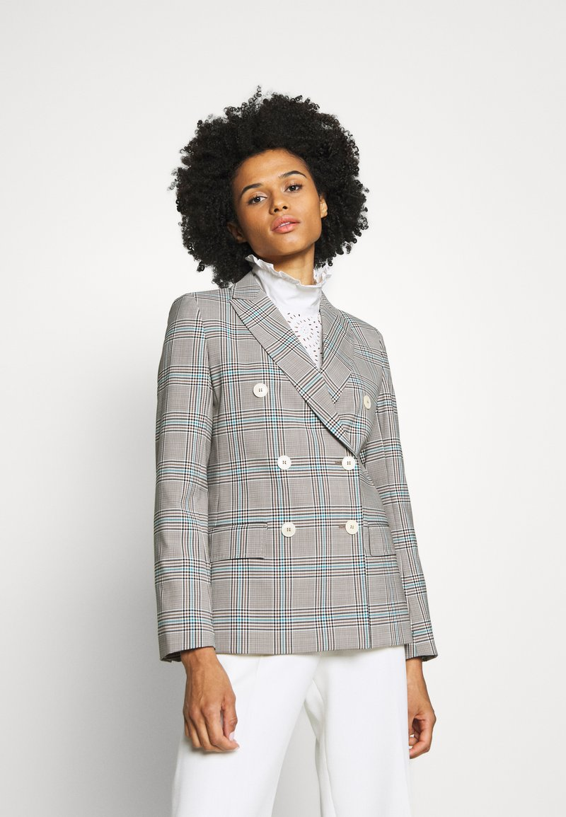 WEEKEND MaxMara - ASTRALE - Blazer - grey/blue