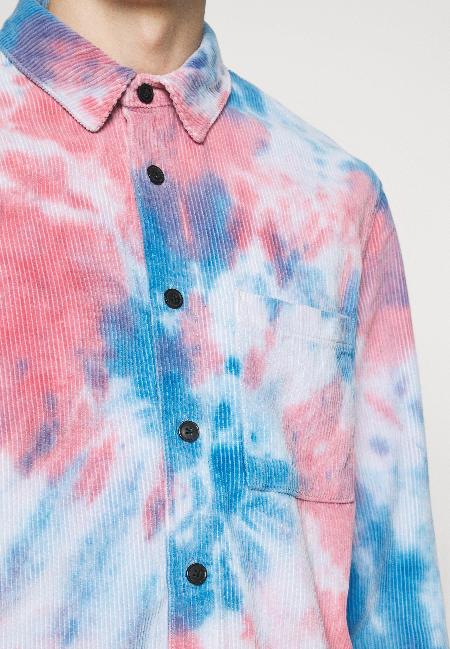 Men TIE DYE SHACKET - Summer jacket