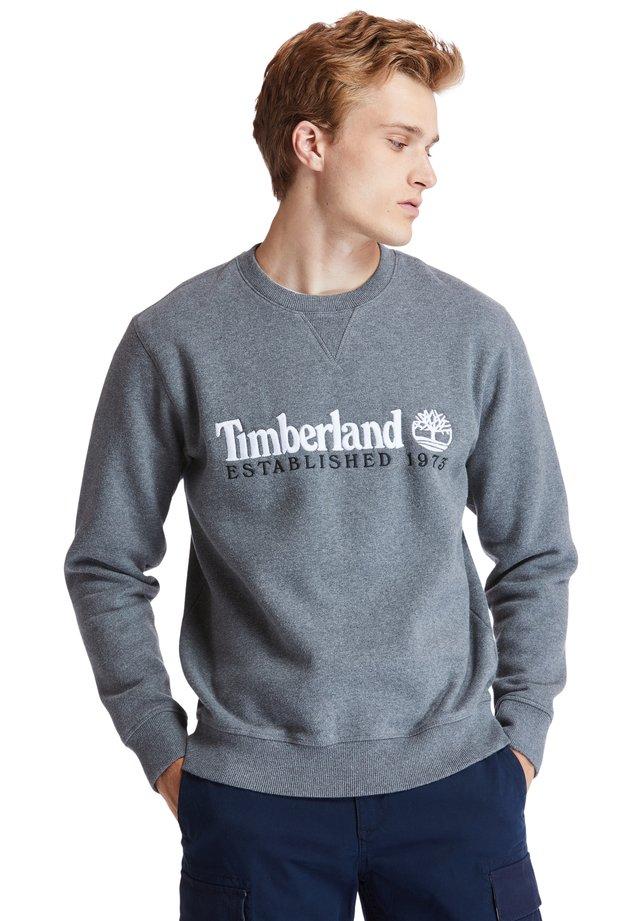 OUTDOOR HERITAGE ESTABLISHED - Sweatshirt - dark grey heather