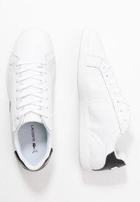 Lacoste - GRADUATE - Sneakersy niskie - white/black - 1