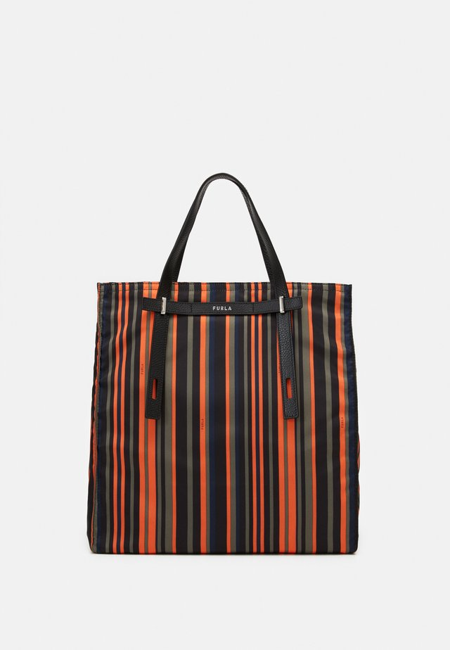 MAN GIOVE SHOPPER TESSUT UNISEX - Torba na zakupy - toni orange