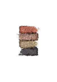 Nyx Professional Makeup - GLITTER GOALS CREAM QUAD PALETTE - Eyeshadow palette - 2 galactica - 2