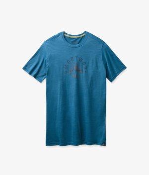 T-shirt print - light neptune blue heather