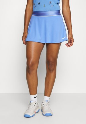 FLOUNCY SKIRT - Sports skirt - royal pulse/white